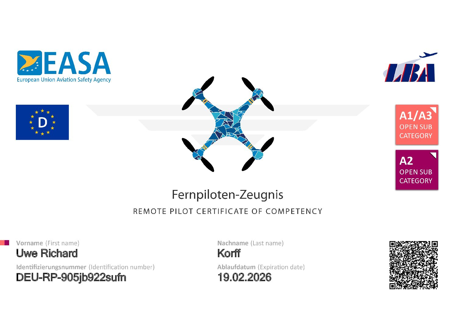 A2_-_Fernpiloten-Zeugnis_Korff_Uwe_Richard_DEU-RP-905jb922sufn-1